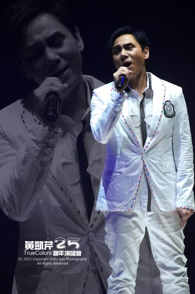 黃凱芹TrueColors 25週年演唱會 2012