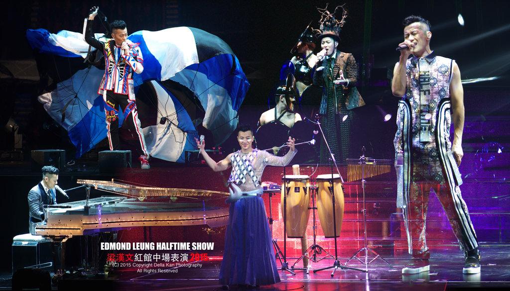 Edmond Leung Halftime Show 2015 梁漢文紅館中場表演