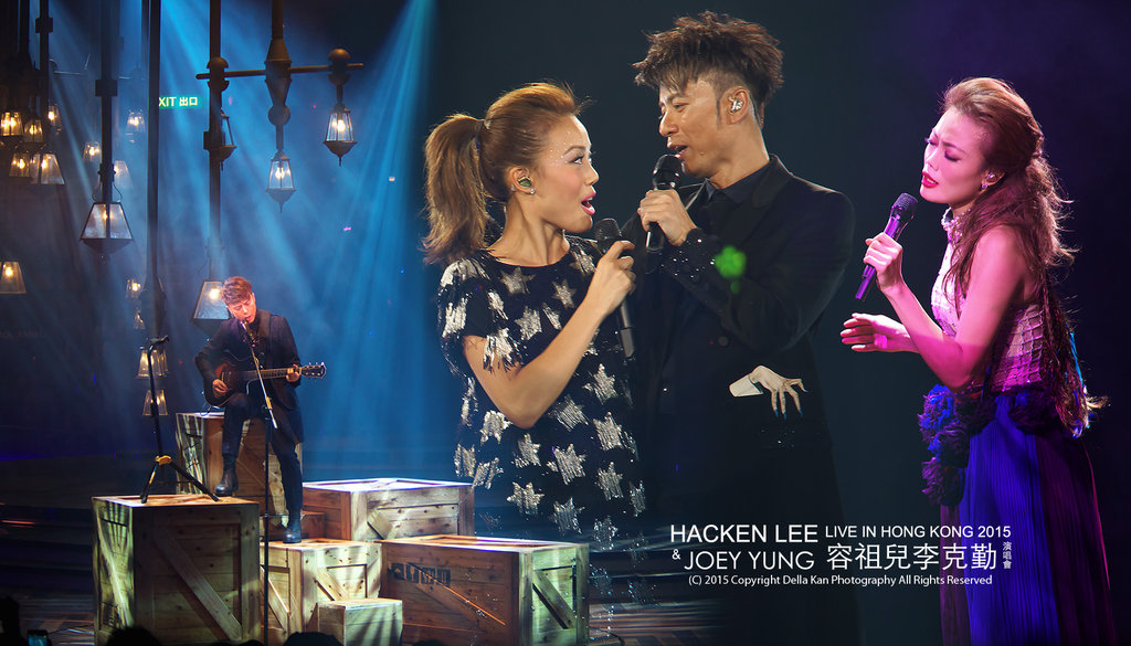 HACKEN LEE & JOEY YUNG Live in Hong Kong 2015
