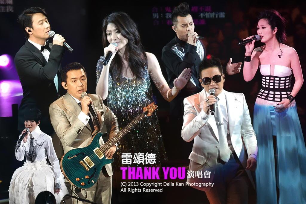 雷頌德 Thank You 演唱會 2013