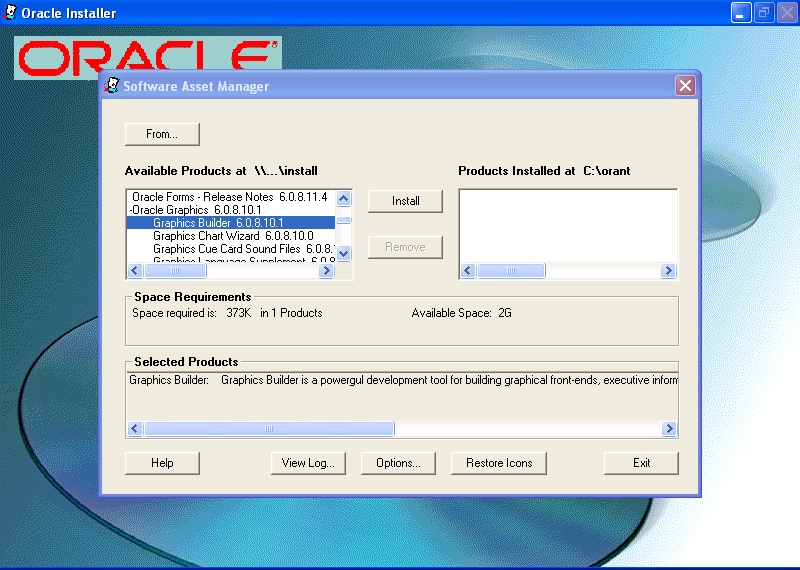 Oracle Forms 6I Patch 3