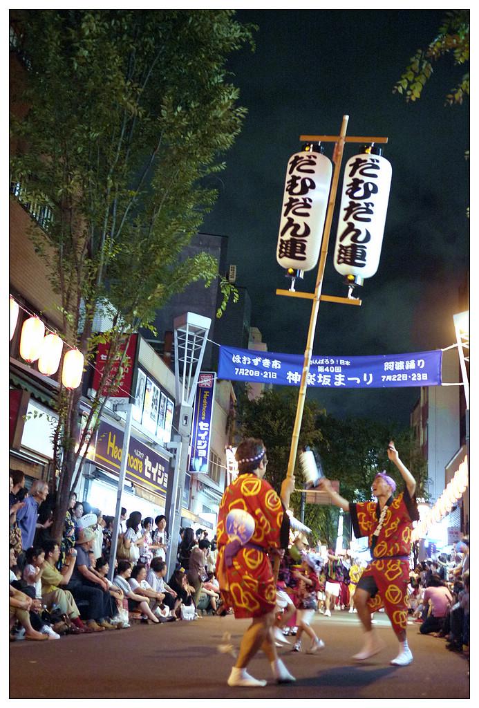 感受日本4祭的氛圍