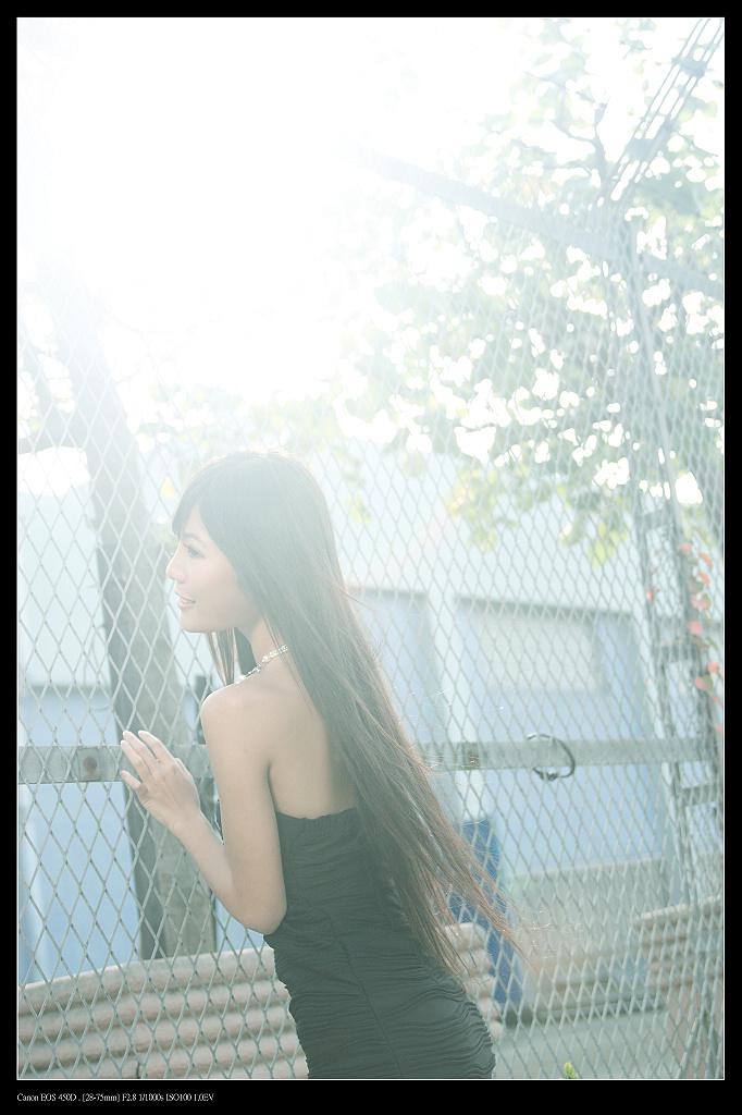 冬日的光 yumi外拍