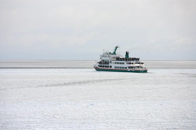 北海道網走~流冰