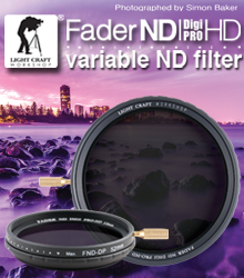 Light Craft Workshop Fader ND Digi Pro HD, The best variable ND ever