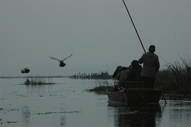 照片由 Camille 提供; 攝於2005年貴州草海