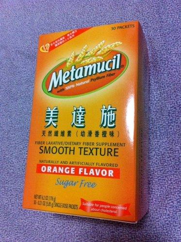 大吃大喝過後的修復小計劃~~美達施天然纖維素 (幼滑香橙味)