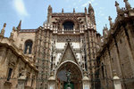 Seville Cathedral, one of the largest in the world, comes third after St Peter's in Rome and St. Paul's in London.