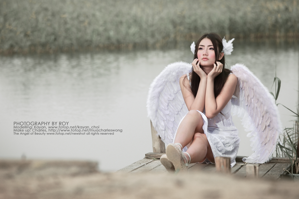 Instant Messaging Angel : Fantasy collection i an angel 天使 fotop photo