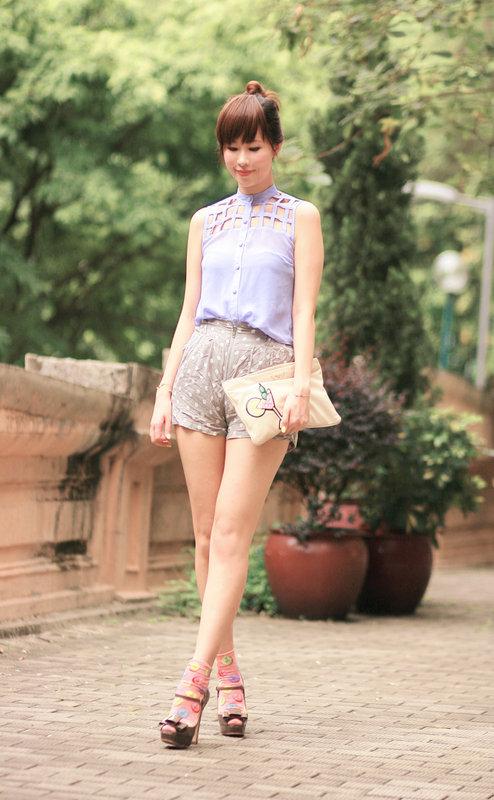 Bbw in shorts pics