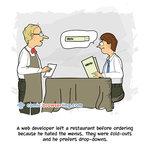Restaurant - Developer Humor and Jokes