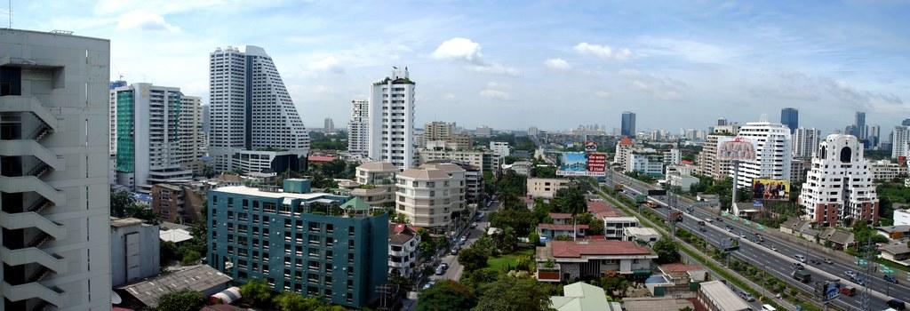 Bangkok View from Majestic Grande Sukhumvit Bangkok