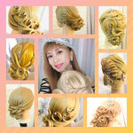 bridal hair hong kong,set頭,新娘髮型,髮型課程,新娘髮型課程,新娘髮型教學