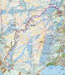(10.7km) K52巴士紹榮鋼鐵站落車起步, 走龍發街, 轉小冷水路左走中途轉右上疊石脊至史露比石登疊石頂(269m). 北脊落山路, 經大冷溪方包石及月牙谷, 往雙清溪大休. 休後山路經五渡水上至良田坳馬路. 左走往乾山方向去, 中途轉右接山路落至將到底轉左入乾良石澗下午茶. 茶後回落山路落至良景村. 往田景村田裕樓巴士站乘車 20210105