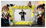 畢業氣球公仔連影相框
